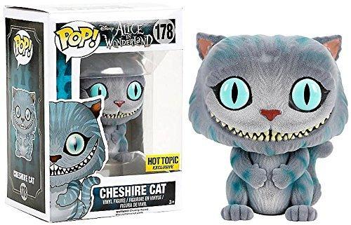 (Funko POP Disney: Alice in Wonderland Cheshire Cat Flocked #178 Hot Topic Exclusive)