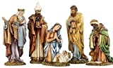 Joseph's studio by Roman Nativity Set 5-Piece 8-1/4-Inch Each