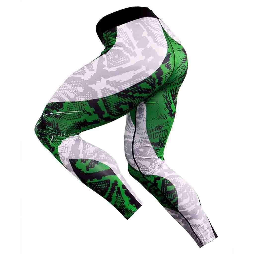 NUSGEAR Pantaloni Sportivi da Uomo Leggings Uomo Termico Leggins Sport Running Pantaloni Uomo Elegante Slim Fit Elastic Calzamaglia Ghette Termici Pantaloni Jogging Running