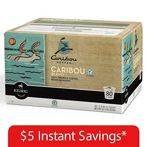 Caribou Coffee Blend (80 K-Cup)