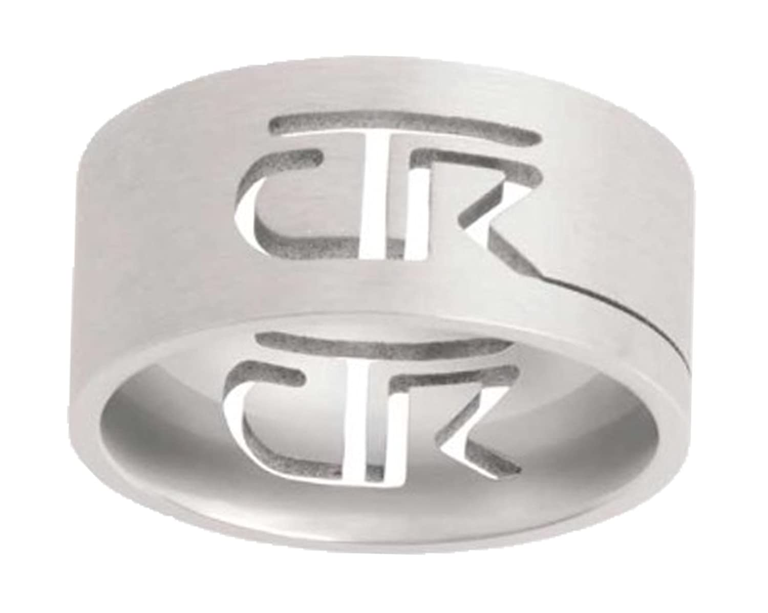 """Cutout"" - CTR Ring - Stainless Steel - J69 - One Moment In Time"