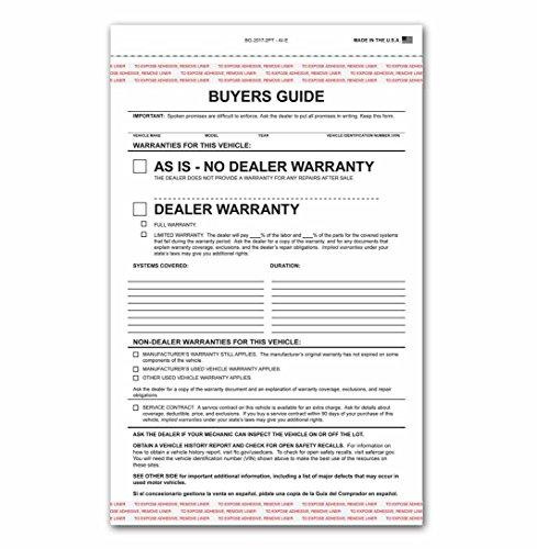 Buy warranty for cars