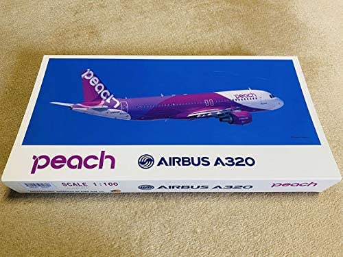 peach ピーチ AIRBUS エアバス A320 JA820P 1/100 樹脂製台座 エバーライズ製