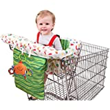 Eric Carle Shopping Cart and Hi Chair Cover, Baby Cart...