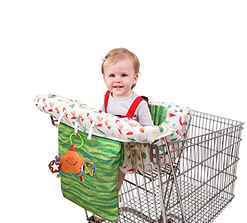 Eric Carle The Very Hungry Caterpillar Shopping Cart and High Chair Cover
