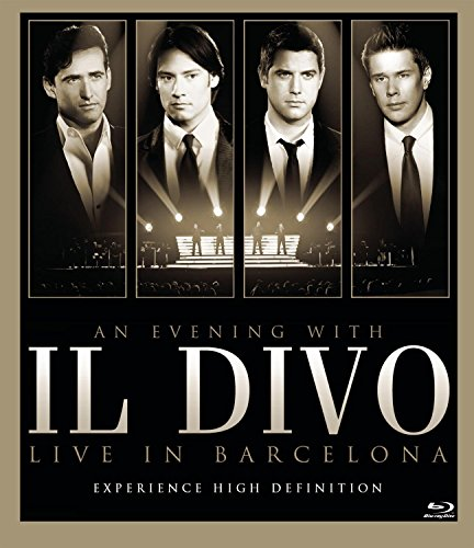 An Evening With Il Divo - Live in Barcelona [Blu-ray]