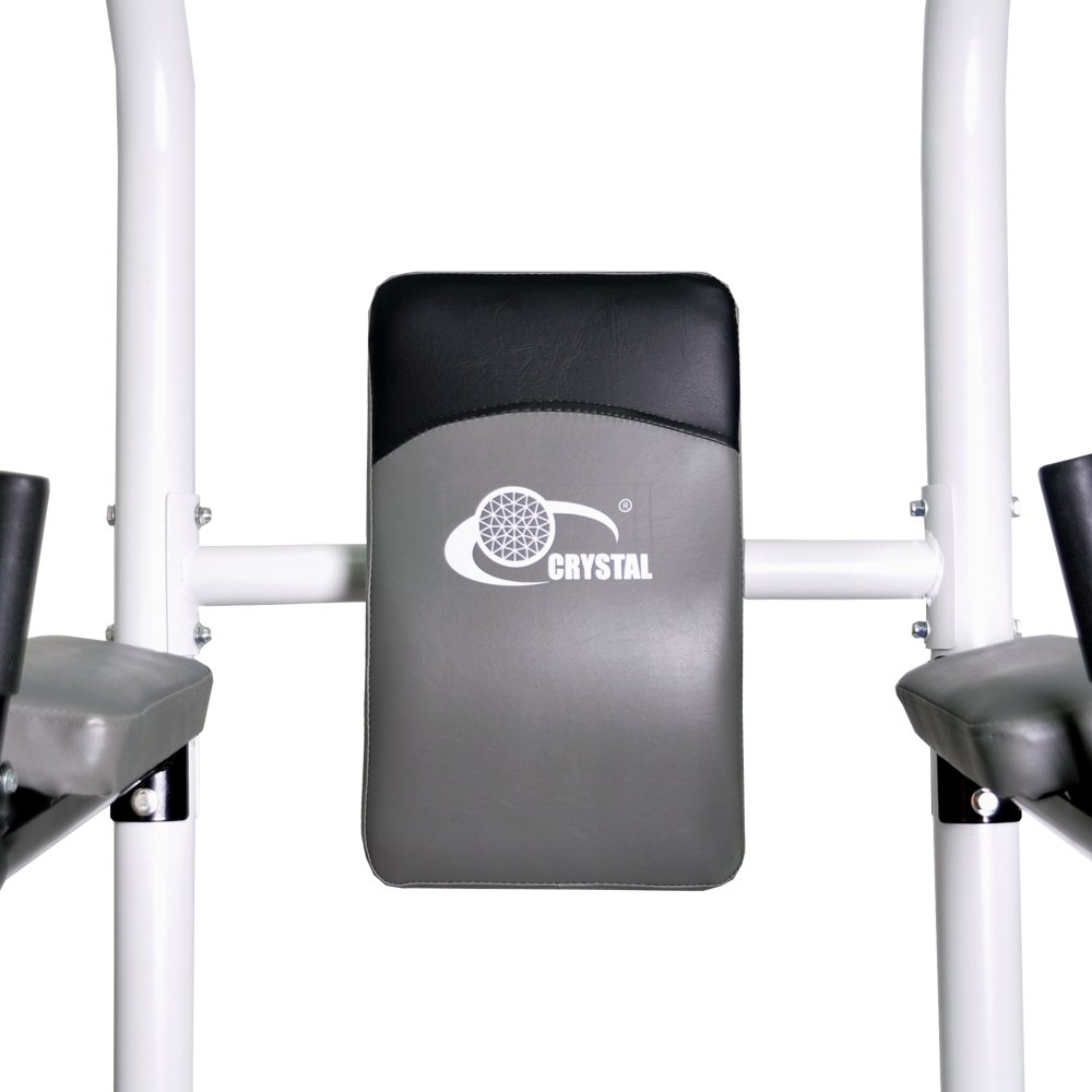 XPH Pull Up Dip Station Power Tower Workout Tower Fitness Station Body Tower Sports Equipment Pull Up Bar Standing Tower Home Fitness Workout Station (white) by XPH (Image #5)