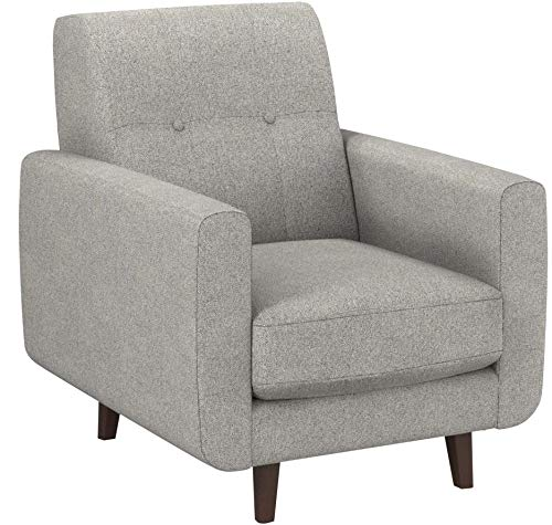 Rivet Tufted Accent Chair, Pebble - Sloane Mid-Century Modern - 6