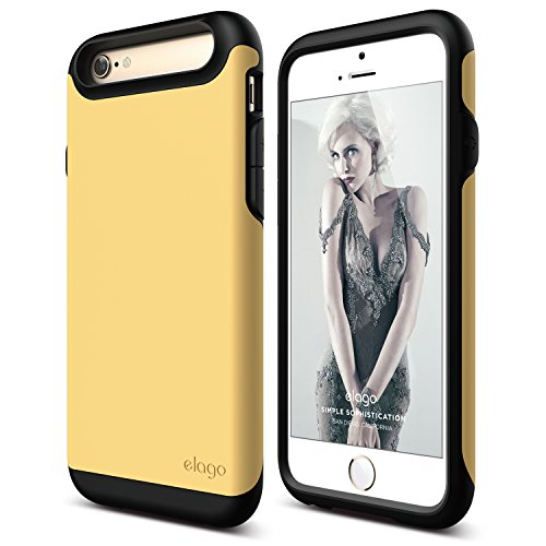 iphone-6s-case-elagor-duromatte-black-creamy-yellow-premium-armorheavy-shock-absorptiondual-layers-f