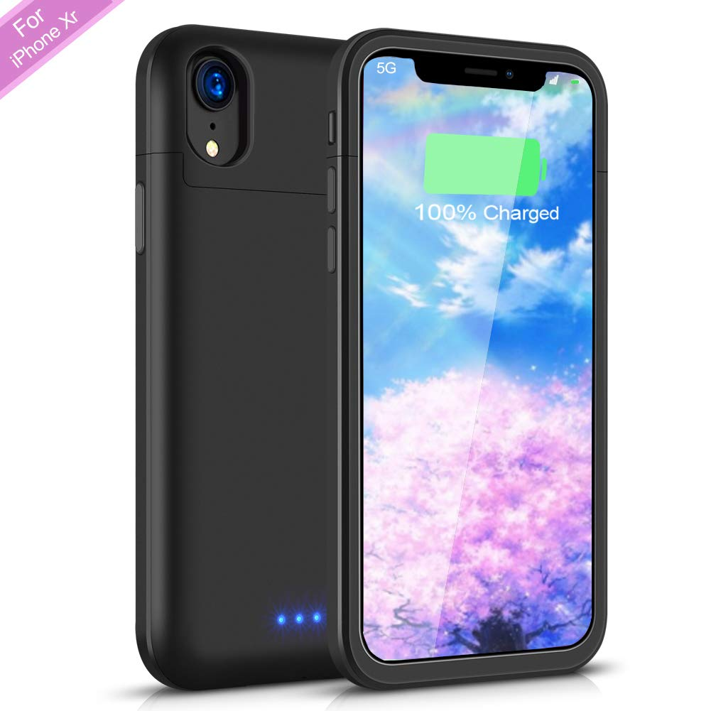 Funda Con Bateria de 5500mah para Apple Iphone Xr SHENMZ [7JPF4CRB]