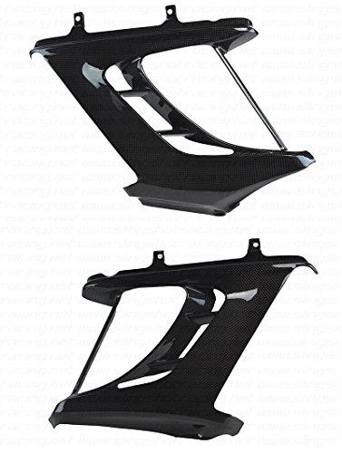 (2011-2014) Ducati Diavel Carbon Fiber Fibre Radiator / Turn Signal Side Panel Cover ()