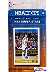 2017/18 Panini Hoops NBA Basketball EXCLUSIVE Factory Sealed Limited Edition 11 Card ALL STAR Collection Set with Lebron James, Stephen Curry, Kevin Durant & More! Shipped in Bubble Mailer! WOWZZER!