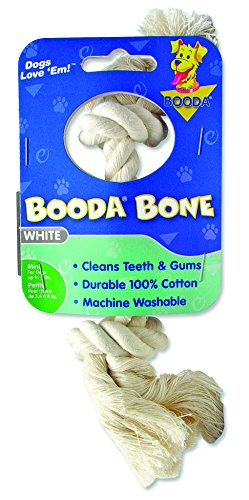 Aspen/Booda Corporation DBX50760 2-Knot Rope Bone Dog Chew Toy, X-Small ()