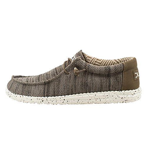 Hey Dude Wally SOX Mens Casual Shoes. Brown