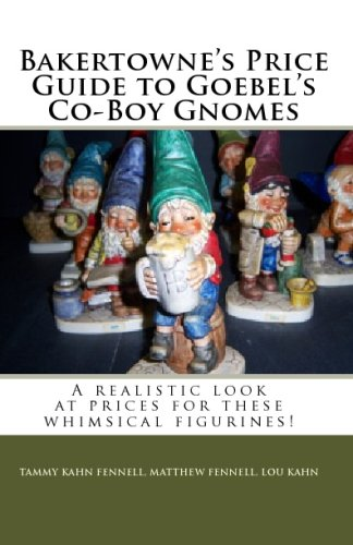 Bakertowne's Price Guide To Goebel's Co-Boy Gnomes