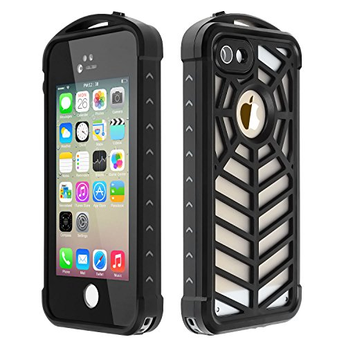 Waterproof Shockproof Dirt Proof Cover for iPhone SE/5S/5 (Black) - 6