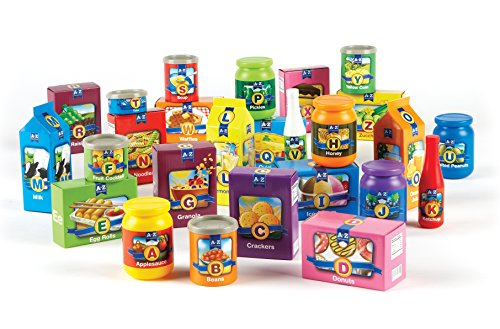 Learning Resources A to Z Alphabet Groceries, 26 (Grocery Set)