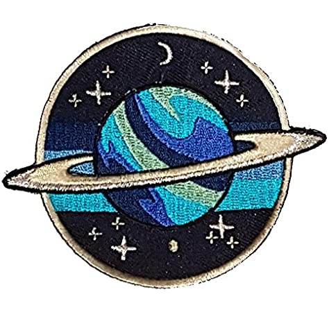 Amazon Com Planet Patches Galaxy Patches Iron On Patch Embroidered Patch Custom Patches Arts Crafts Sewing