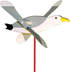 Seagull Whirligig/Whirly Bird Garden Spinner Lawn Decoration Amish-made