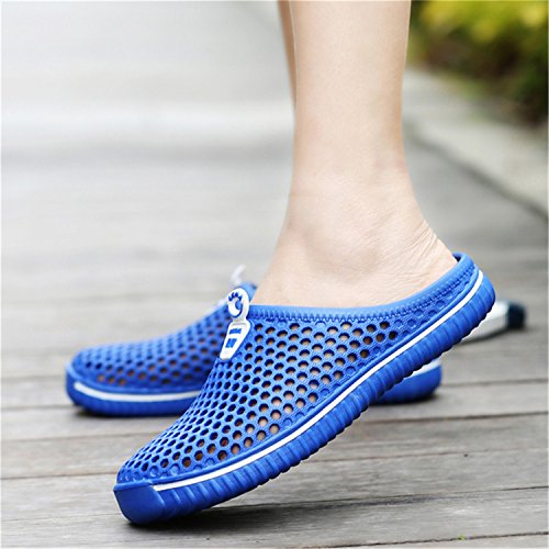 Amazon.com | UNIOPLIIL Summer Slippers Men New Hollow Out Breathable Beach Sandals Shoes Unisex Casual Slip-on Flats Flip | Slippers