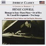 Henry Cowell: Continuum Portrait 2