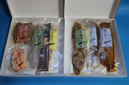 油与商店 おすすめ糠漬け粕漬けセット ご贈答用 -クール-