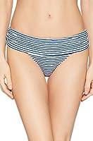 Lauren Ralph Lauren Women's Painterly Stripe Banded Hipster White/Blue 4