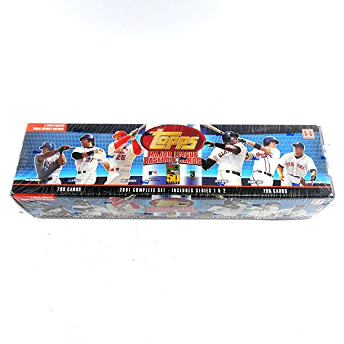 2001 Topps Baseball Hobby Factory Set Blue (790) ^ Topps Archives RC Reprints (2001 Topps Cards Baseball)
