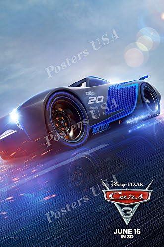 Amazon Com Premiumprints Disney Pixar Cars 3 Movie Poster