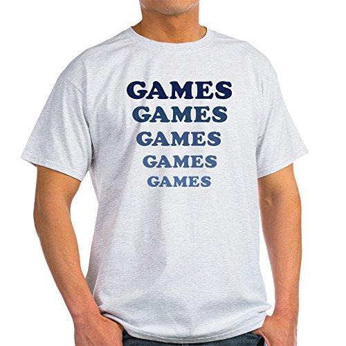 Games Adventureland - CafePress Games Light T-Shirt 100% Cotton T-Shirt Ash Grey