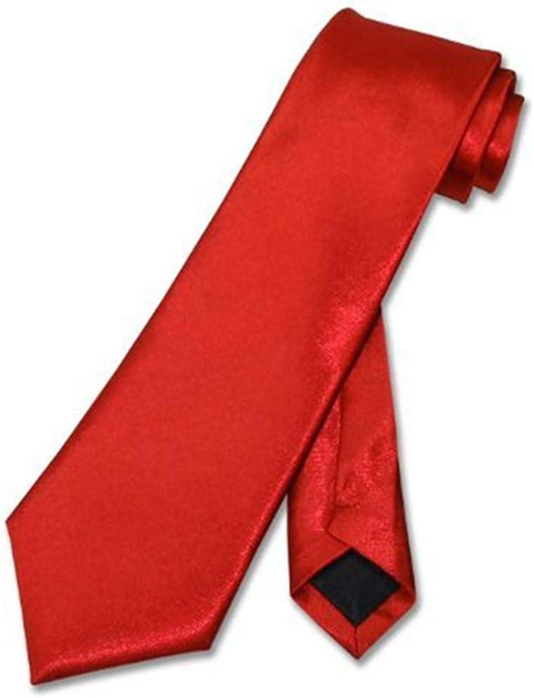 Corbata De Hombre Corbata,Corbata De Niño S Corbata Roja Sólida ...