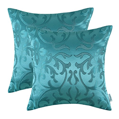 CaliTime Pack of 2 Throw Pillow Covers Cases 18 X 18 inches Only $11.19
