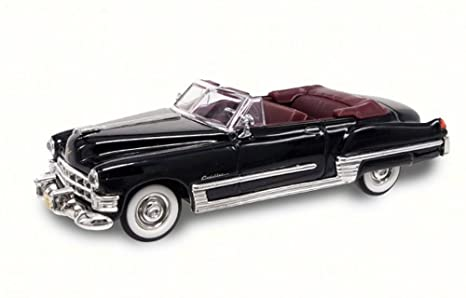 Road Signature 1949 Cadillac Coupe de Ville Convertible, Black 94223 - 1/43  Scale Diecast Model Toy Car