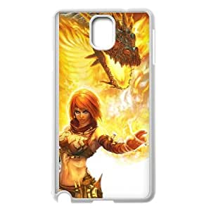 Samsung Galaxy Note 3 Cell Phone Case Covers White Beast On Fire Ajav