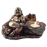 Happy Buddha Tea Light Candle Holder