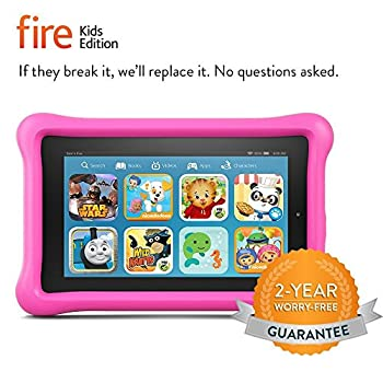 "Fire Kids Edition Tablet, 7"" Display, 16 Gb, Pink Kid-proof Case (Previous Generation - 5th) 2"