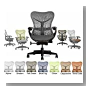 Mirra Chair by Herman Miller - Basic - Graphite Frame - Graphite
