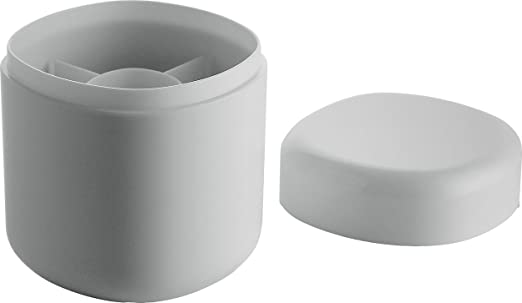 3 opinioni per Alessi Pl09 W Contenitore per Bastoncini di Cotone, Bianco