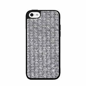 Clear Bubble Wrap Plastic Fashion Phone Case Back Cover iPhone 5c