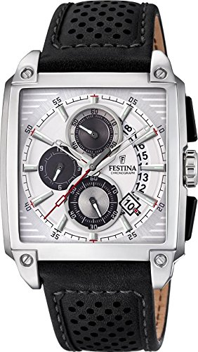 Men's Watch Festina - F20265/1 - Chronograph - Date - Leather Band by Festina