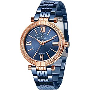 Daniel Klein Analog Blue Dial Women's Watch – DK11138-3