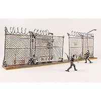 McFarlane Toys The Walking Dead AMC TV Series Prison Gate & Fence Building Set (192 pcs )