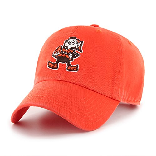 OTS NFL Cleveland Browns Male Challenger Legacy Adjustable Hat, Orange, One Size