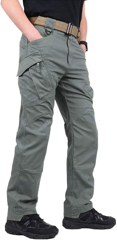 Quick Drying Pants Men/'s Summer Pants Outdoor Tactical Trousers 4 Zip Pockets