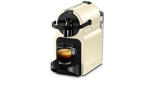 De Longhi en 80. CW Inissia máquina de café nespresso Depósito 0.7 Litros Potencia 1260 W: Amazon.es: Hogar