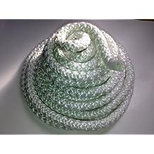 "3/8"" Wood Stove Door Gasket, Round Fiberglass Rope Seal (10 ft. roll) High Density"