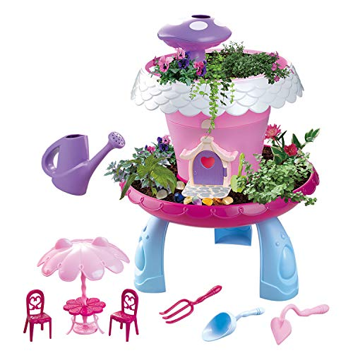 Remokids My Happy Garden Tools Toys, STEM Toys DIY Assembly Toys for Kids, Grow Your Own Garden Toys,Christmas Gift for Girls