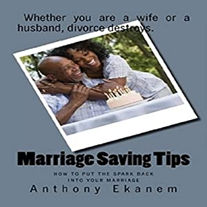 Marriage Saving Tips Audiobook