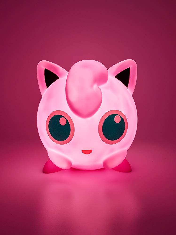 Pink Teknofun 811362 Pokemon Pummeluff LED Lamp-25CM