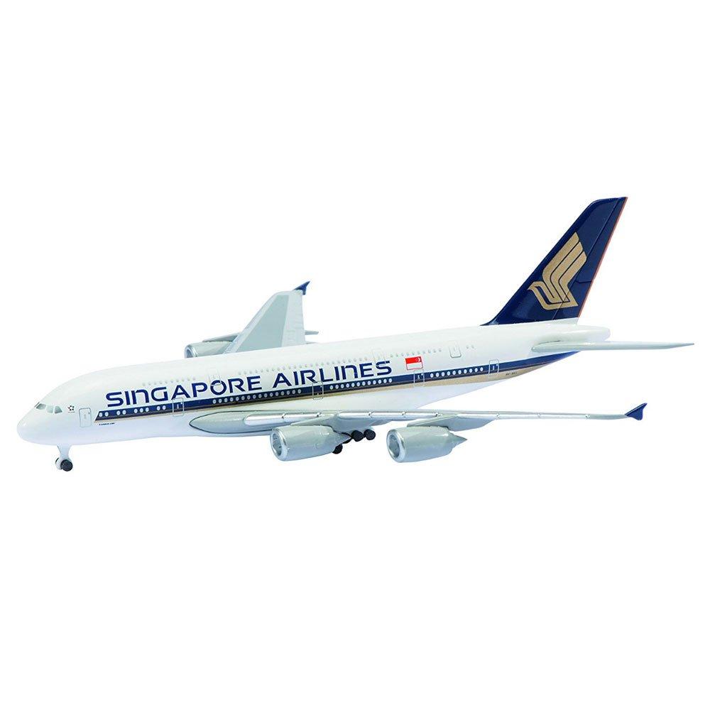 KOKUSAI BOEKI KAISHA, LTD 1/600 Scale Diecast Airplane Diecast Toy - Singapore Airlines A380-800
